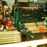 가공 현장의 모습 (Production line)