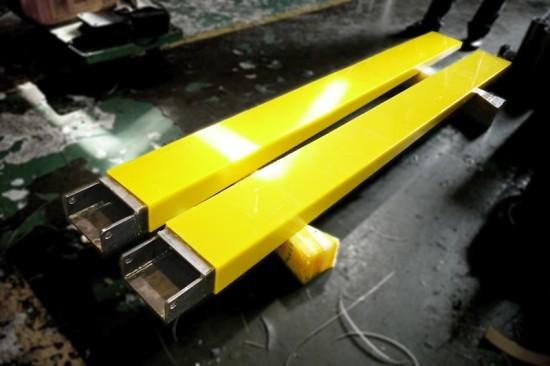 지게차 부품 코팅 (Fork lift Spare parts Casting)